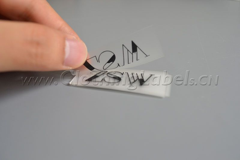 Clear Clothing Labels Tpu Printed Labels Clothinglabels Cn Printing Labels Clothing Labels White Gift Boxes