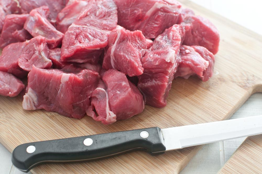 Lovely tender diced lamb from wwwgastroyorkshirecouk