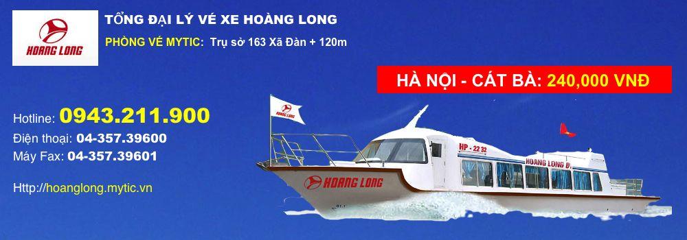 Vé trọn gói Hà Nội Cát Bà xe Hoàng Long - 0943.211.900 - MYTIC.VN