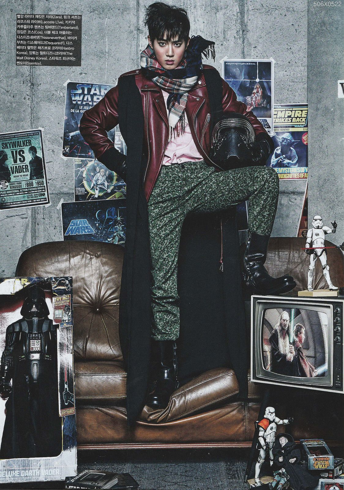 More pictures from the Exo+Star Wars photoshoot - OMONA THEY DIDN'T! Endless charms, endless possibilities ♥