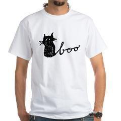 Boo Cat for Halloween T-Shirt