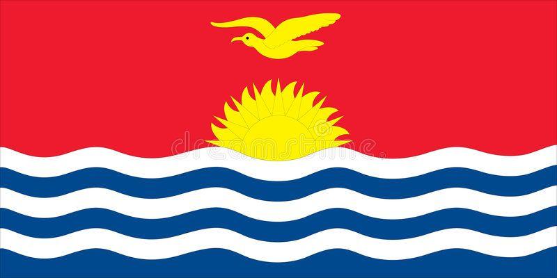 Flag Kiribati Flag Of Kiribati Vector Illustration Ad Kiribati Flag Illustration Vector Ad Illustration Vector Illustration Flag