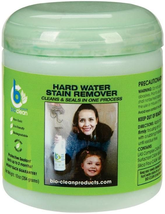 Clean WSR10 Hard Water Stain Remover, 10 Oz
