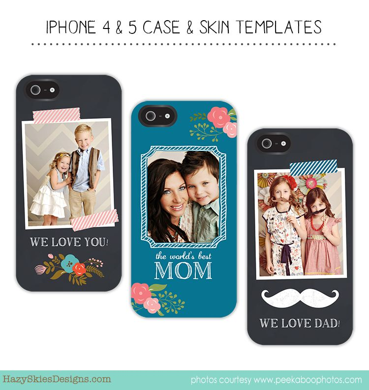 iPhone Cover & Skin Templates   Studio family photography ...
