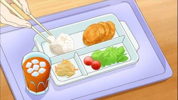 anime food 食品イラスト アニメ弁当 食べ物 イラスト