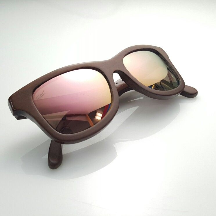 cf0b40b472 Raw Eyewear wooden sunglasses handcrafted in Puerto Rico with local woods  Modelo Viejo San Juan Madera Maga Lente Lilac