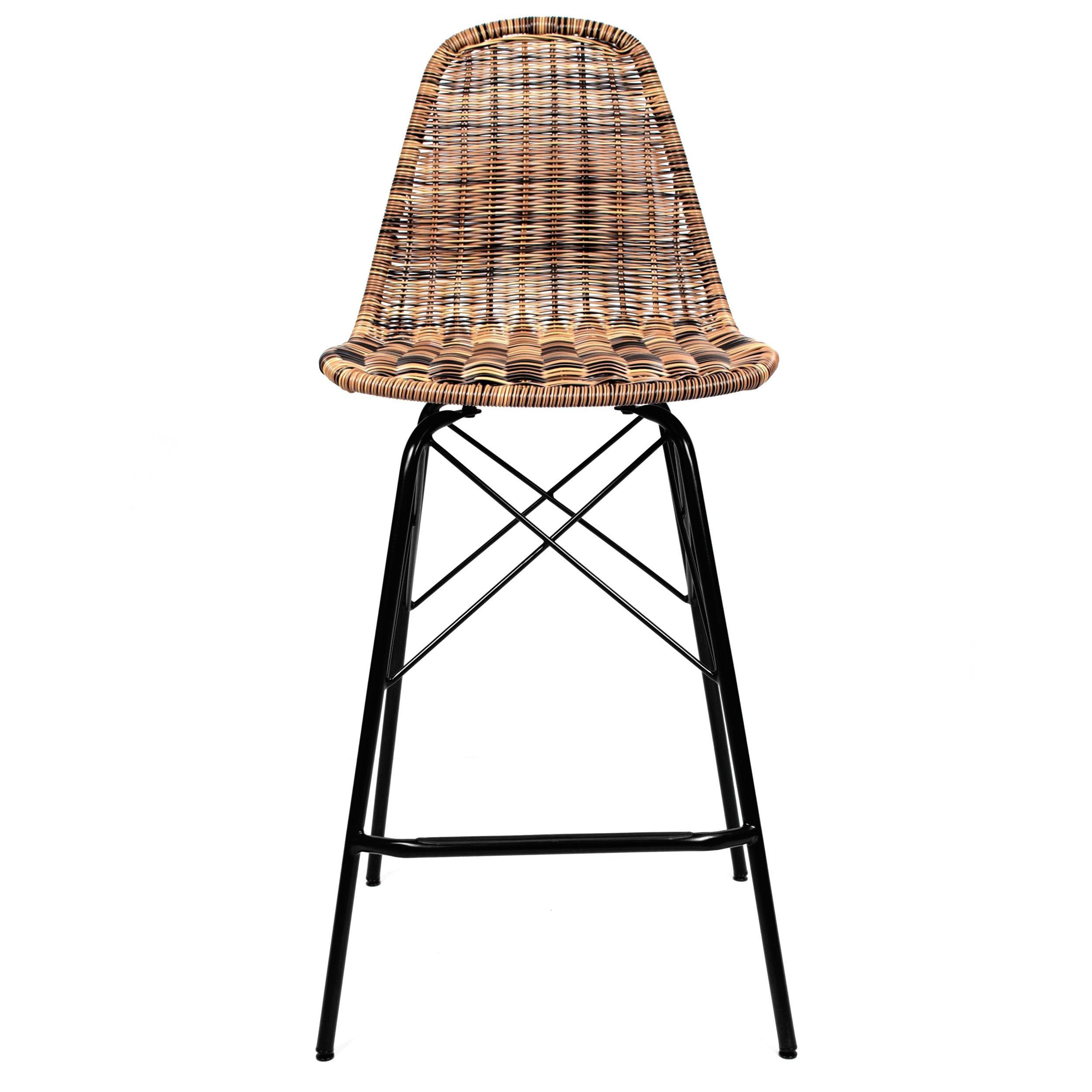 Chaise De Bar Tiptur En Resine Tressee Naturelle Lot De 2 Commandez Les Chaises De Bar Tiptur En Resine Tressee Naturelle Lot De 2 Rdv Deco Chaise Bar Bar Chaise