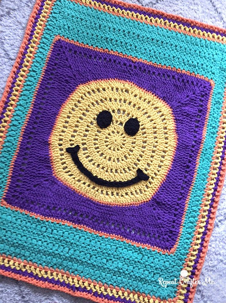 Bernat Blanket Stitch Along - Clue #4   Bordes de ganchillo De ...