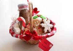 Cestitas Dulces De Navidad Regalos Navideños Canastas De Navidad Cestas De Regalos De Navidad