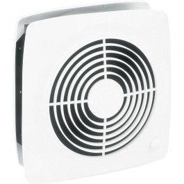 Broan 510 Square Wall Mount Installation Exhaust Bathroom Fan In White Bathroom Fan Bathroom Exhaust Fan Exhaust Fan