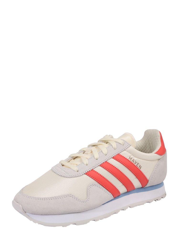 ADIDAS ORIGINALS Sneaker 'Haven' Damen, Orange Weiß, Größe