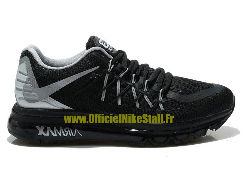 info for 3d28e 602ec Nike Air Max 2015 Chaussures Nike Sportswear Pas Cher Pour Homme NoirGris  698902-ID1