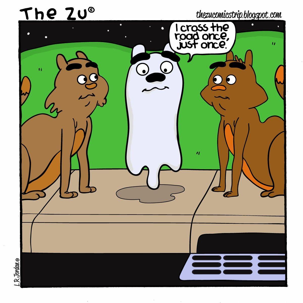 The Zu Number 27  thezucomicstrip.blogspot.com