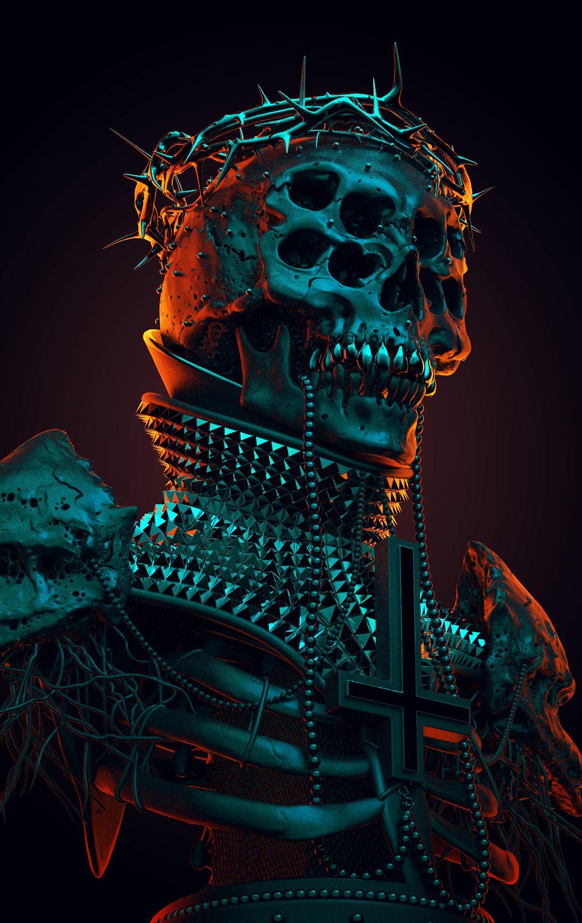39+ Demonic art info
