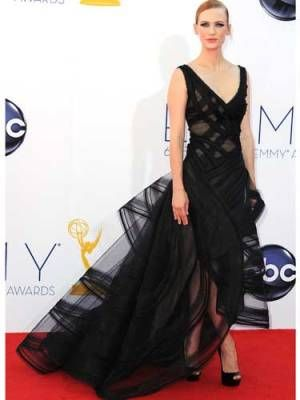 Our 2012 Emmys Best-Dressed List - January Jones #Emmys