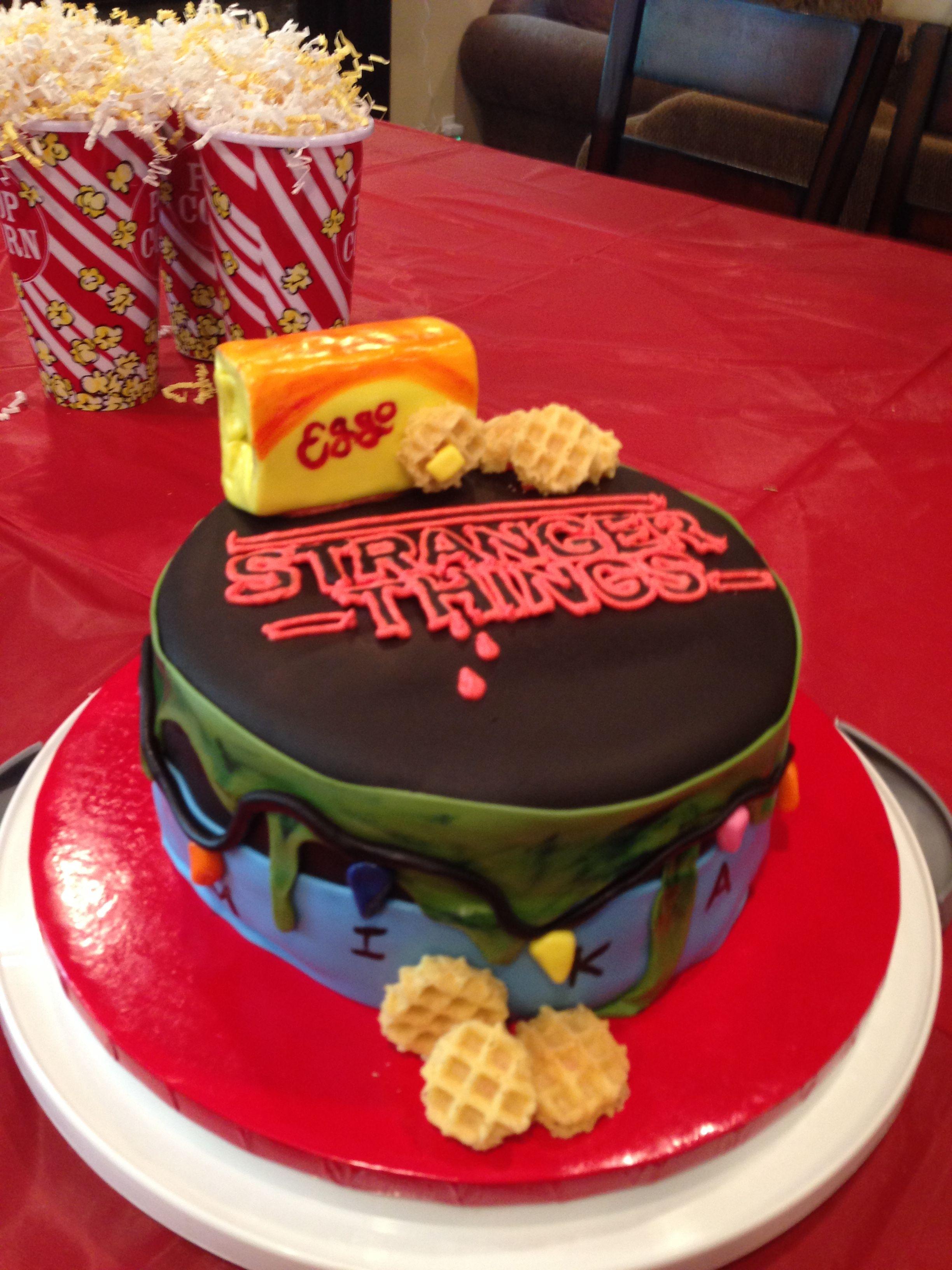 This Is Gonna Be My Bday Cake Stranger Things Stranger Cake