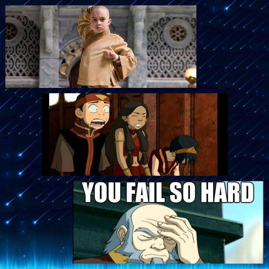 Atla Reactions To Atla Movie By Korrafarron Deviantart Com On Deviantart With Images Avatar Funny Avatar Aang The Last Airbender Movie