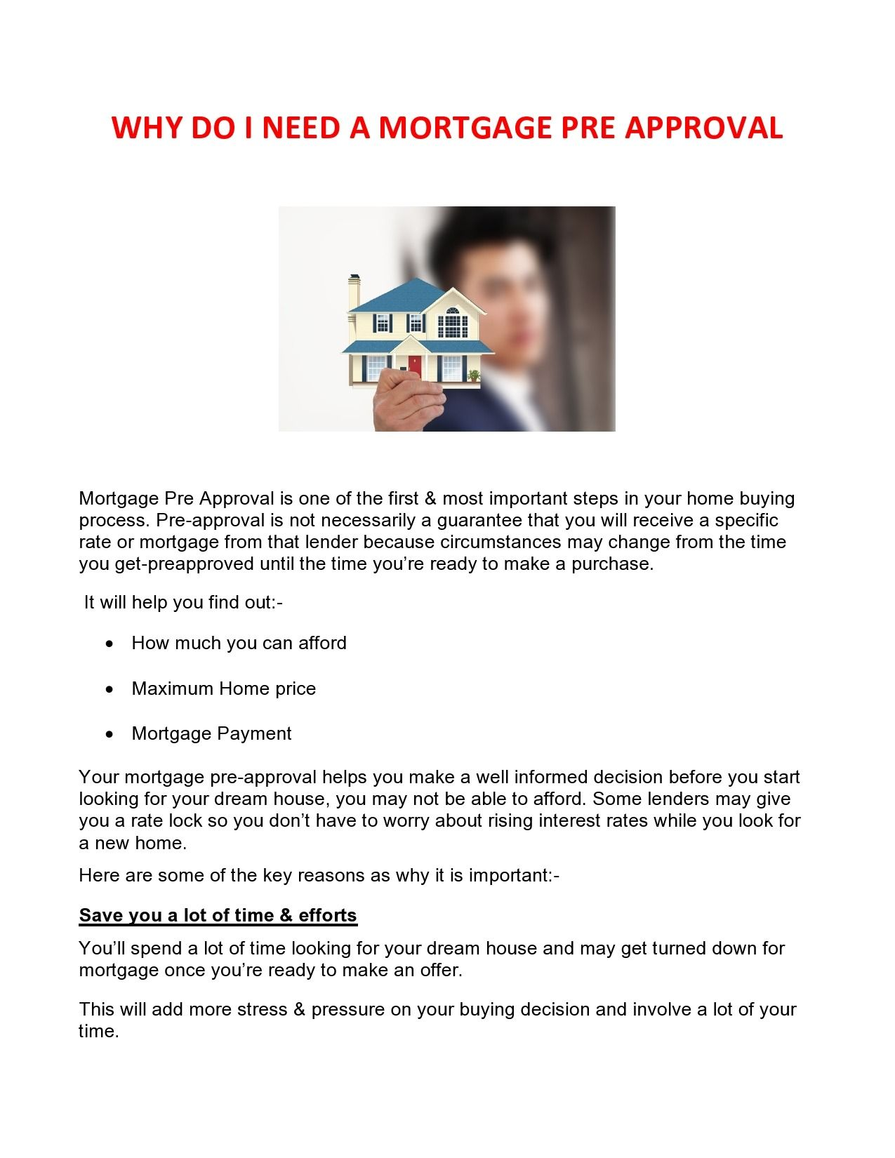 Why Do I Need Pre Approval First Time Home Buyers Home Buying Process Mortgage Loans