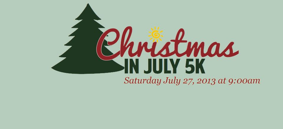 Christmas In July 5k Saturday July 27 2013 White Gate Christmas Tree Farm In West Newbury Ma Christmas In July Christmas Tree Farm Tree Farms