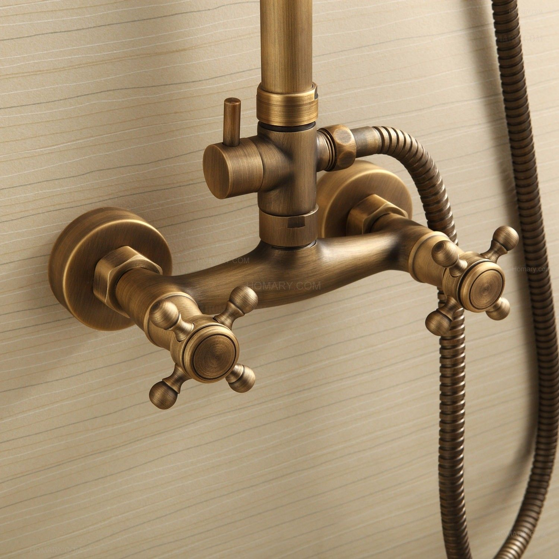 Classic Two Handle Rainshower & Handshower Shower Set | Diseño ...