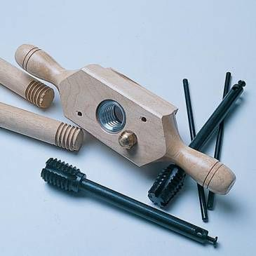 Tap And Die Wood Threading Set Woodworking Woodworking Tools Woodworking Shop