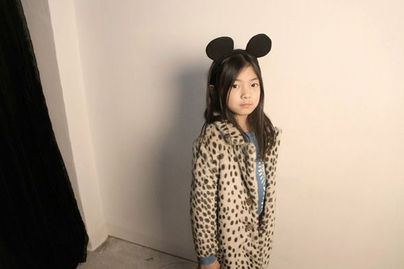 Bobo Choses collection, winter 2014/15. Animal print trend.