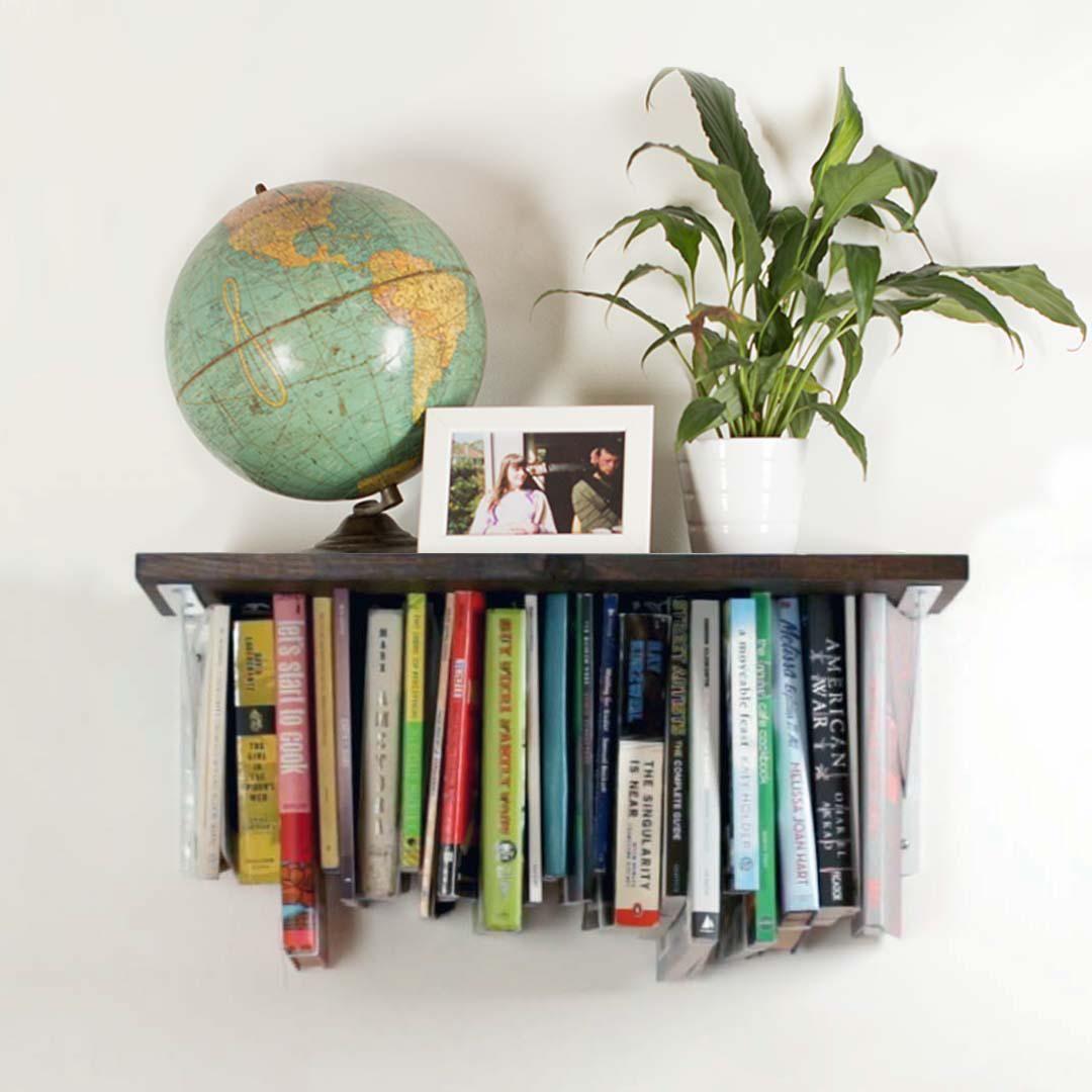 Upside-Down Optical Illusion Bookshelf (With images) | Bookshelves ...