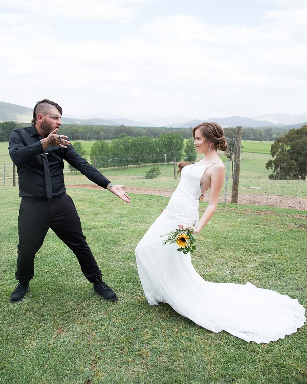 Real Wedding: Mel & Harley