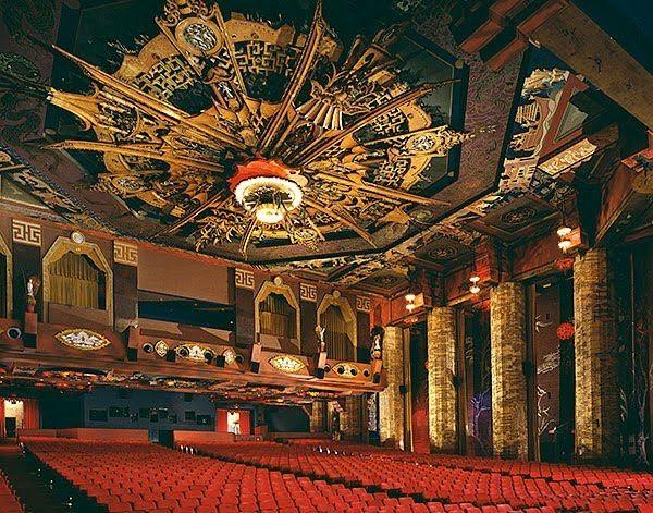 Graumans Chinese Theatre Interior Grauman S Chinese