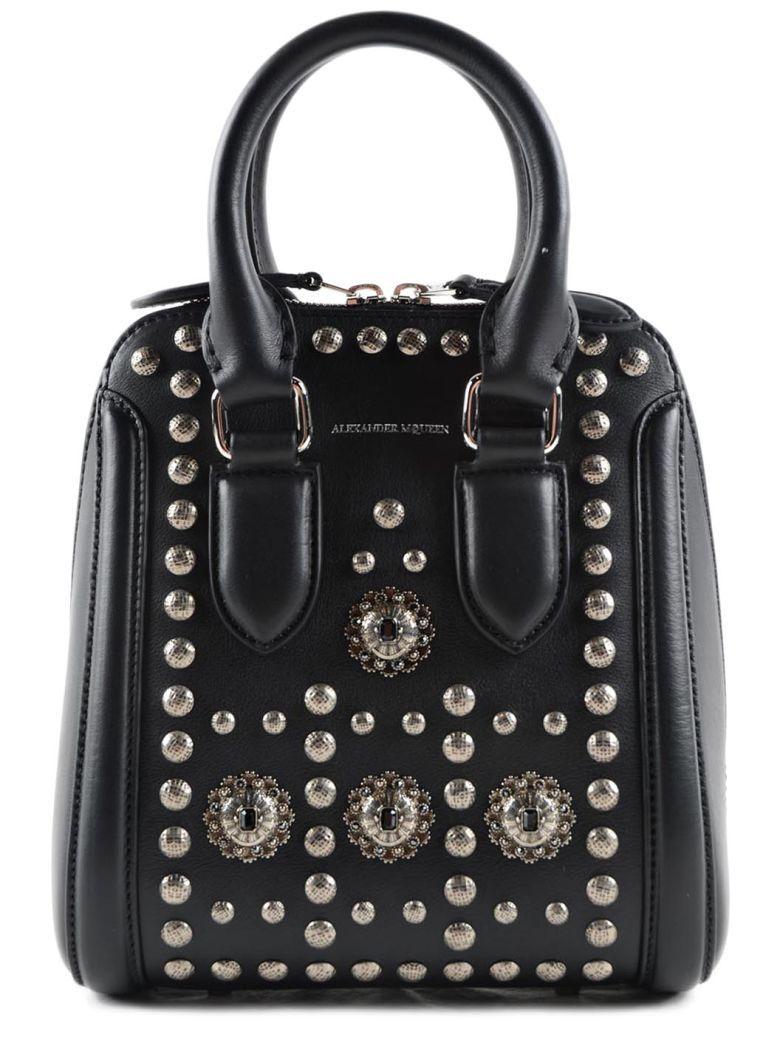 ALEXANDER MCQUEEN Alexander McQueen Heroine Tote. #alexandermcqueen #bags #shoulder bags #hand bags #leather #tote #