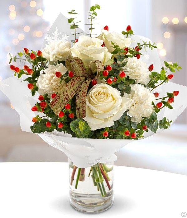 christmas flower bouquets - Google Search   flo   Pinterest   Flower ...