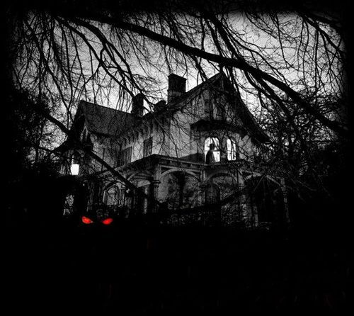 Dark Scary Place House With Images Scary Places Eerie Places