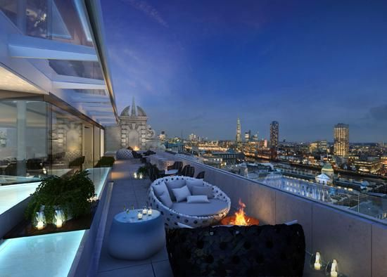 Me Hotel Rooftop Bar Covent Garden London Hotels Best Rooftop Bars London Bars