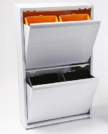 Auxiliar Para Reciclar Cubo De Basura Cubos Reciclaje Organización De Productos De Limpieza