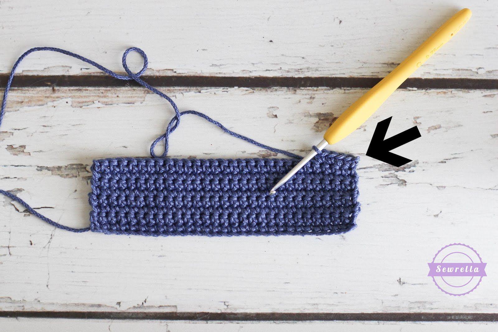 Crochet Tips - Straight Edges Everytime | Quiero