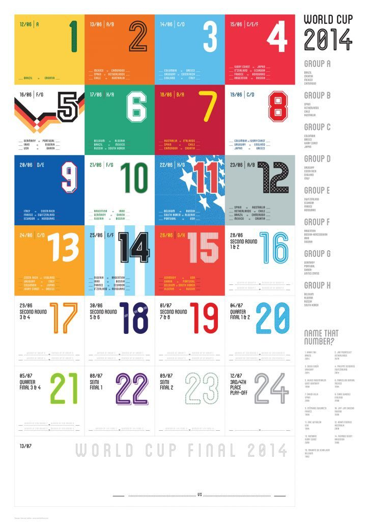 The drum   world cup wall chart winne graphic designer samuel ladlow also winner announced design pinterest rh