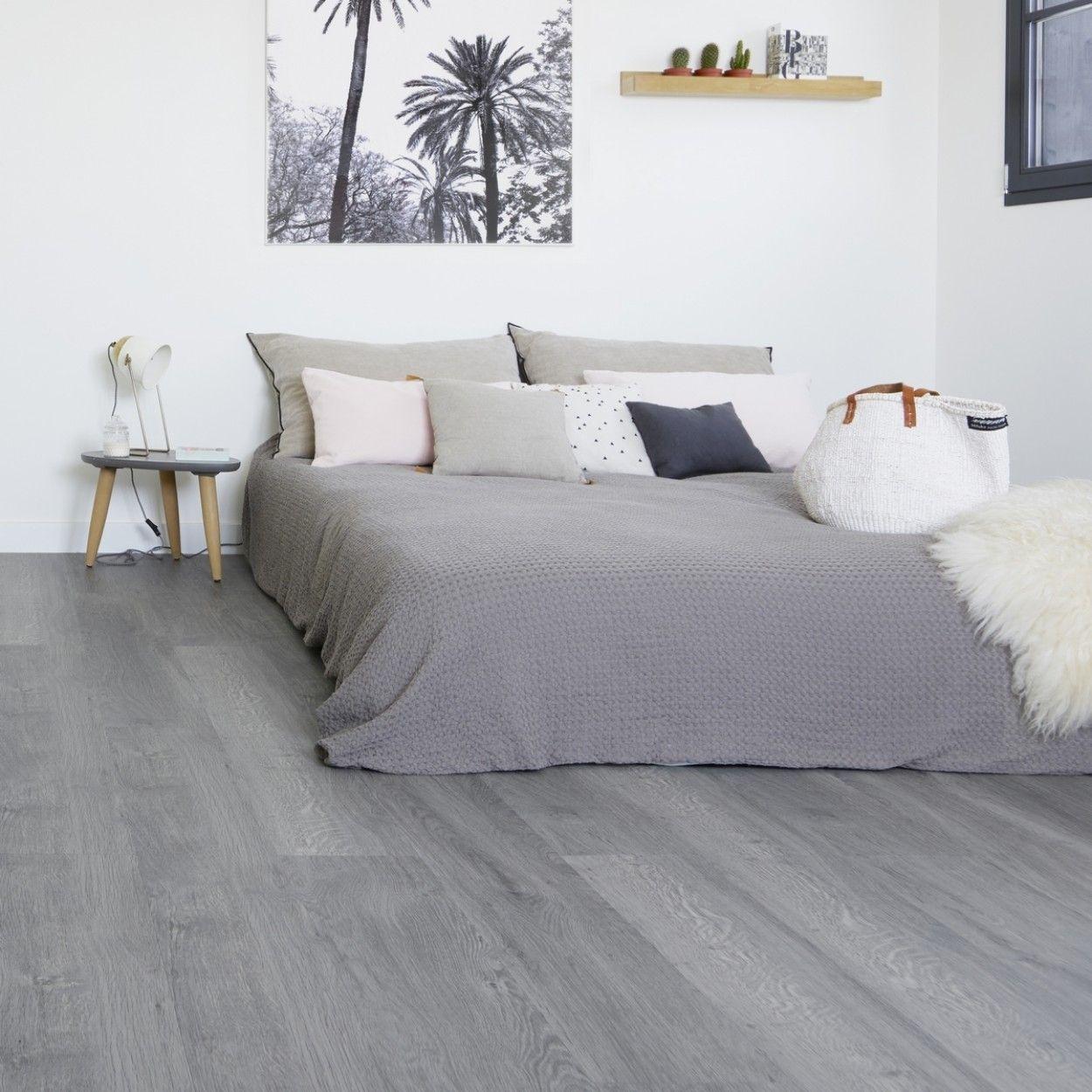 Gerflor Senso Clic Premium 0835 Cleveland Grey Idee Deco Chambre Deco Chambre Parquet Chambre
