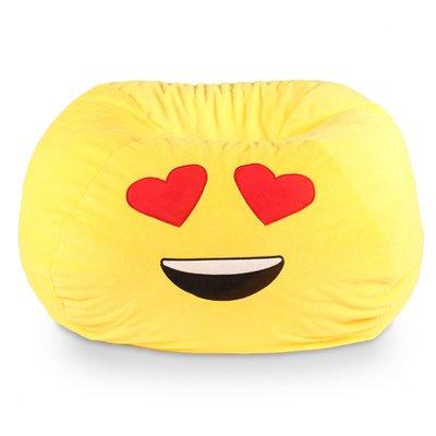 Zoomie Kids Standard Classic Bean Bag Wayfair In 2020 Emoji Bean Bag Kids Bean Bags Bean Bag Chair