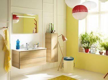 peinture salle de bain et couleurs pop on aime