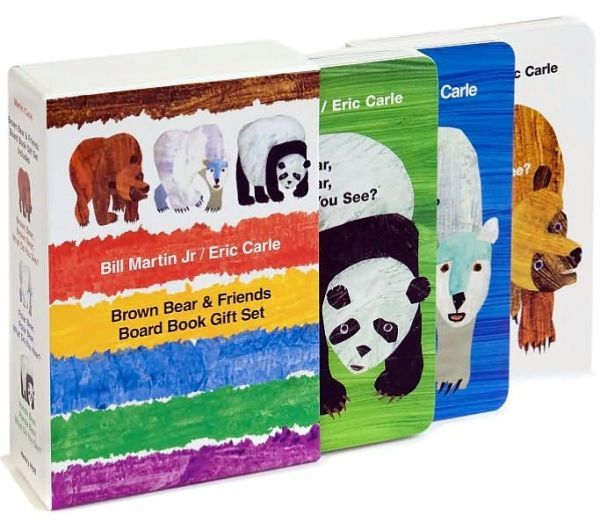 Polar//Brown//Panda Bear by Eric Carle Set 3 books/&toys