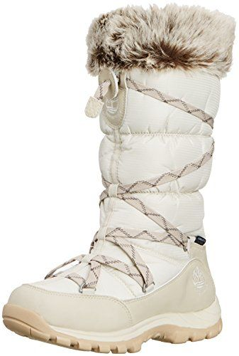 Timberland Chillberg Over The Chill Waterproof Insulated Boot Womens Winter  White 65 -- Want to