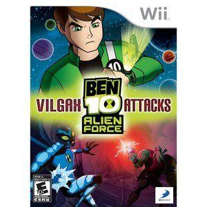 Ben 10 Alien Vilgax Attack Wii Pre Owned Walmart Com Ben 10 Alien Force Ben 10 Ben 10 Ultimate Alien
