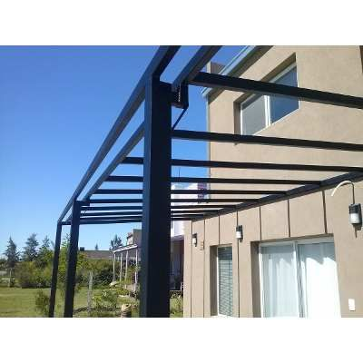 Pergolas de hierro ca o estructural trabajos a medida - Medidas de pergolas ...