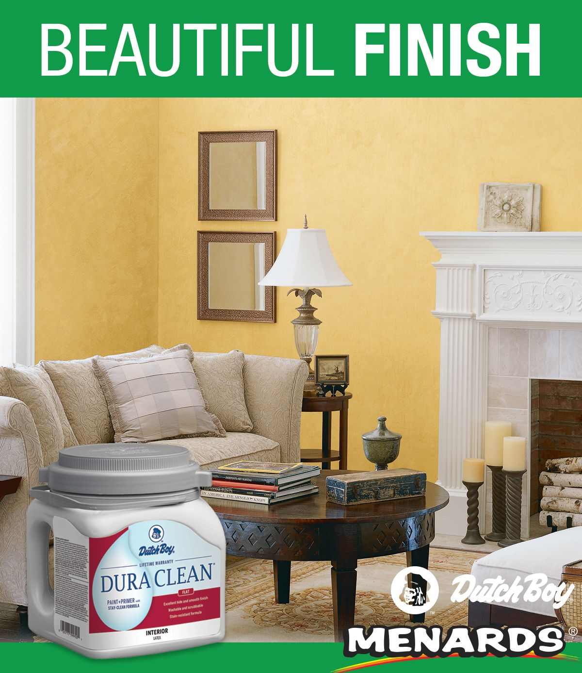 Dutch Boy Dura Clean Interior Paint Primer With Stay Clean Formula Not Only Goes On Beautifully But It Stays