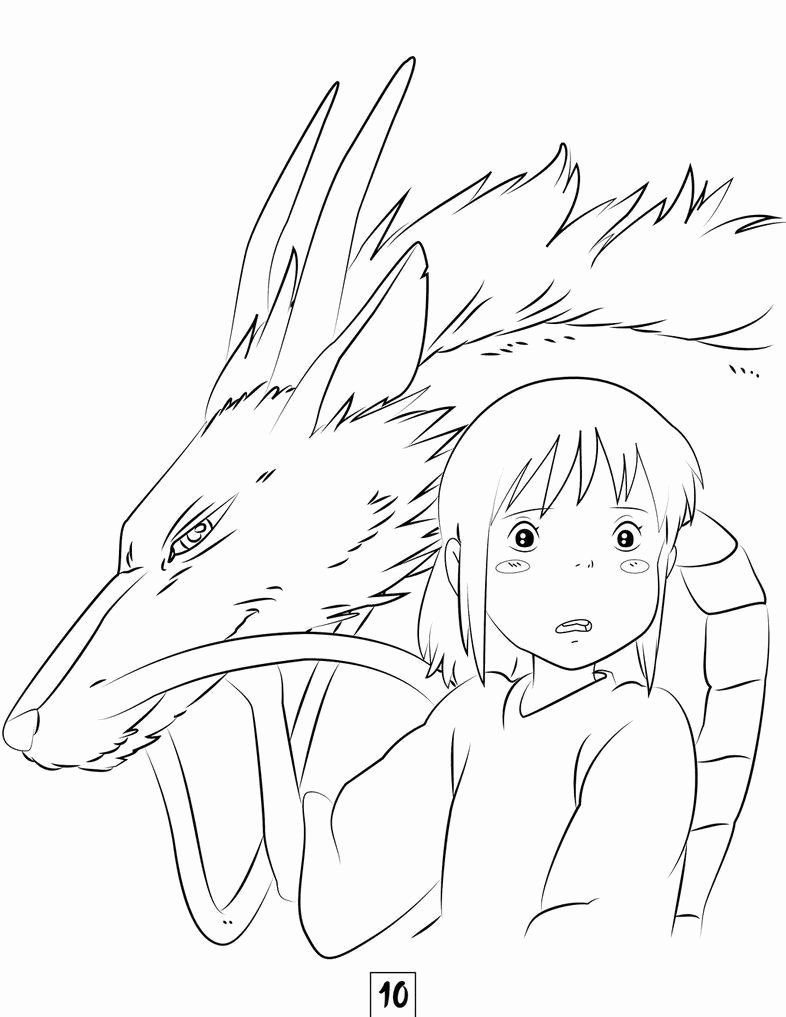 Studio Ghibli Coloring Book Unique Spirited Away Coloring Pages