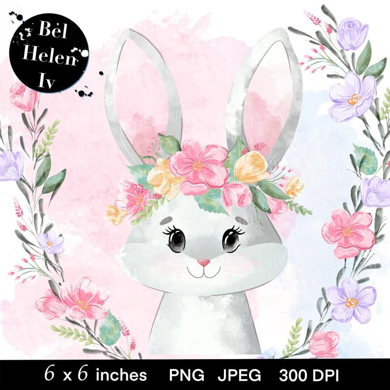 Woodland Animals Watercolor Clipart Hare Raccoon Hedgehog Watercolors Design Floral Pink Animal Clipart Baby Hare Watercolor Animal Chipar Watercolor Animals Watercolor Clipart Animal Clipart