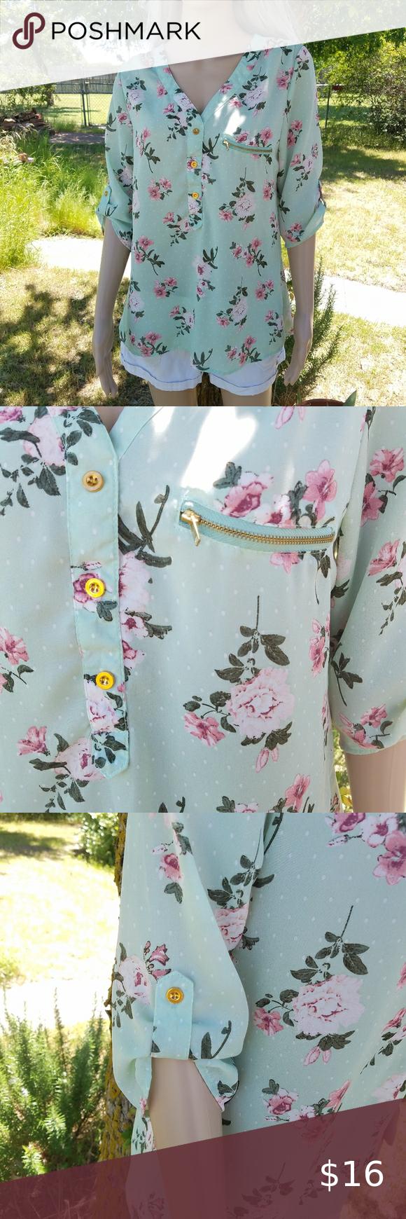 Photo of Wishful Park Springtime Blouse Wishful Park Brand  Cute flow…