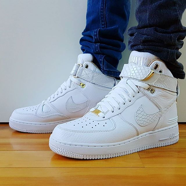 Go Check Out My Nike Air Force 1 Hi X Just Don Onfeet Channel Link In Bio Shop Kickscrewcom Nike Nikesho Sneakers Nike Air Force Sneaker Sneaker Head