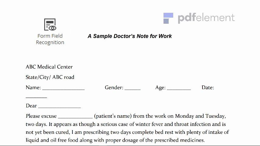 Dentist Note For Work In 2020 Doctors Note Template Dr Note For