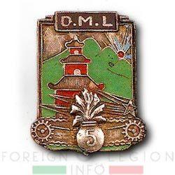 5e REI - 5 REI - 5th Foreign Infantry Regiment - 5th REI - Foreign Legion Etrangere - DML - Motorized Detachment - French Indochina